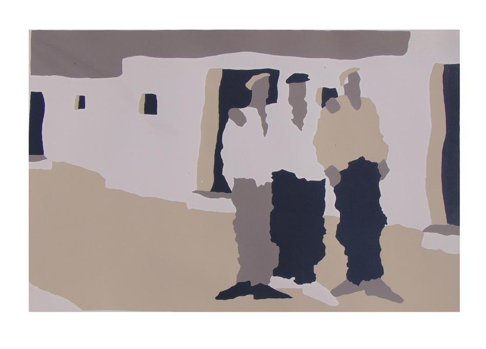 Three Men (original piece)