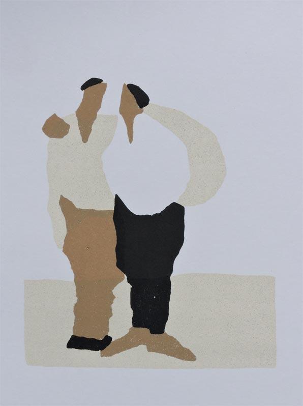 Two Men (original piece)