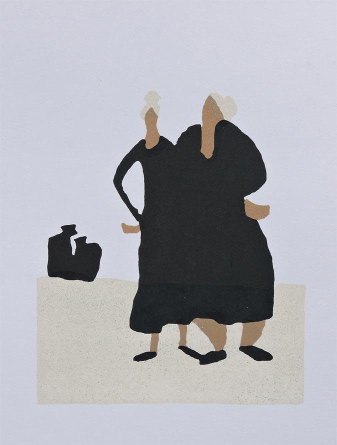 Two Women (original piece)