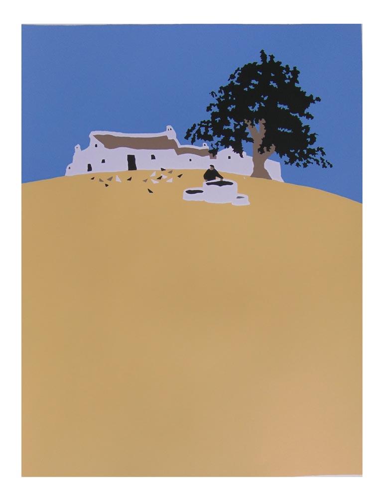Finca Hill II (original piece)