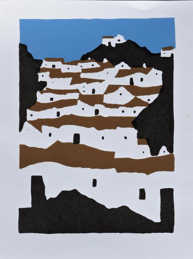 Village Mountains (original piece)