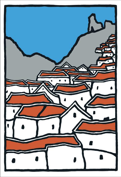 White Village (Reproduction)