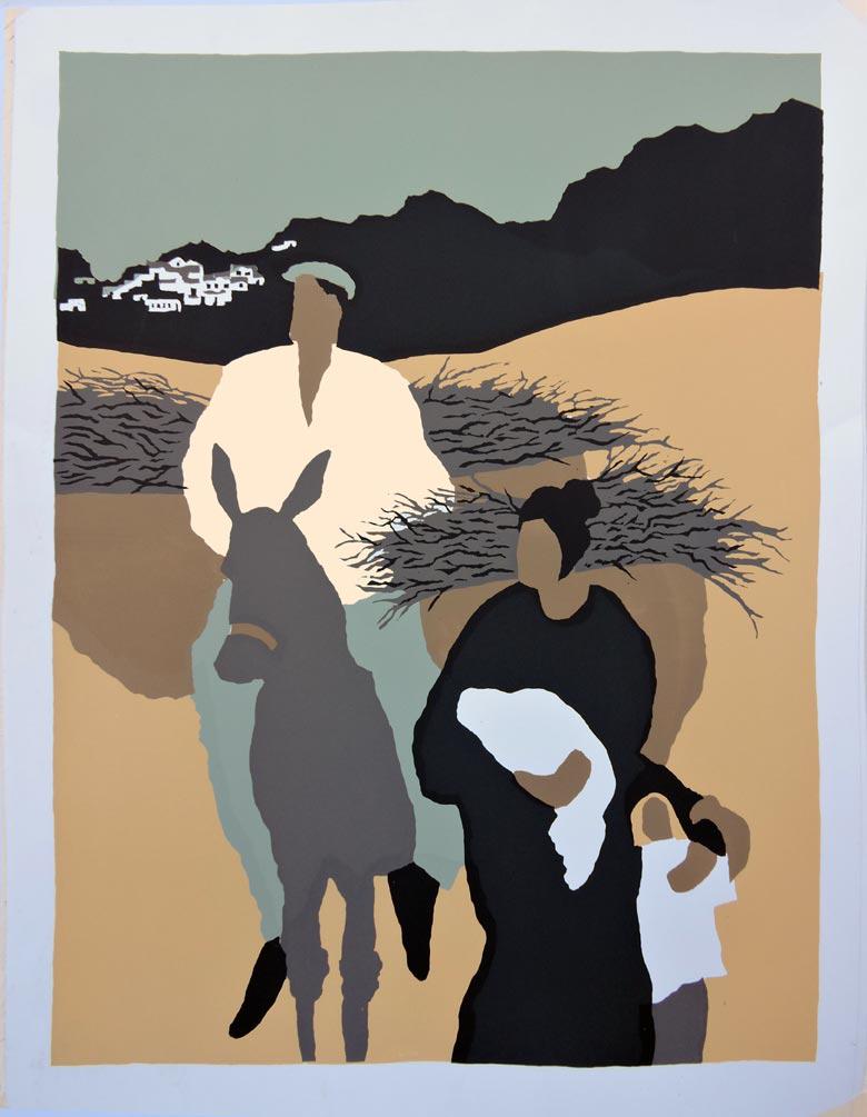 Mujer (original piece)